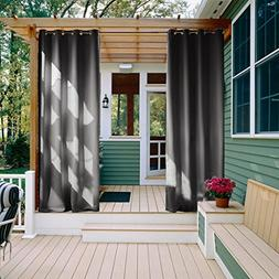 NICETOWN Outdoor Privacy Curtain for Patio - Window Treatmen