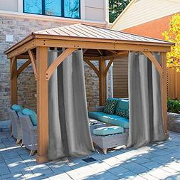 Pro Space Privacy Outdoor Single Window Curtain Panel 50x84-