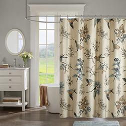 JLA Home INC Quincy Pattern Bird & Floral Cotton Fabric Show