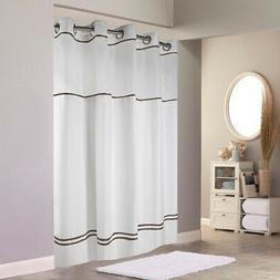 Hookless RBH40ES305 Monterey Shower Curtain with PEVA liner