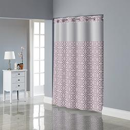 Hookless RBH40MY061 Medallion Shower Curtain with PEVA liner