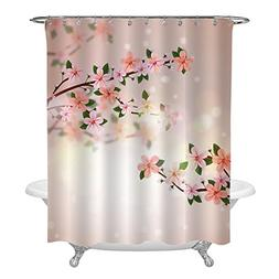 MitoVilla Realistic Florals Shower Decorations, Stylish Pink