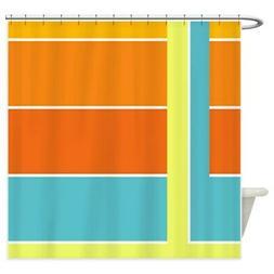 CafePress Retro 1960S 1970S Shower Curtain