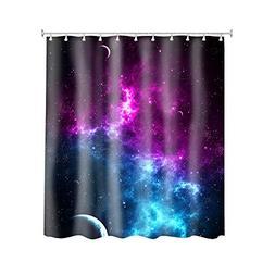 Retro Galaxy Space Nebula Universe Pattern Customize Waterpr