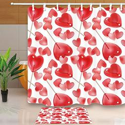 NYMB Romantic Theme Decor, Valentine's Day with Pink Hearts