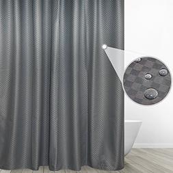 Eforgift Rustic Chic 100% Polyester Bathroom Curtain Waterpr