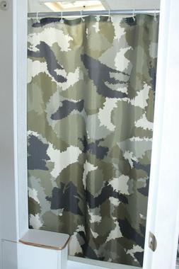 RV Shower Curtain Accessories Gear For Camper Trailer Campin