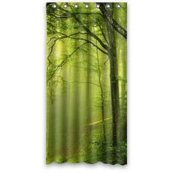 """Small 36""""x72"""" Inches Beautiful Scenery Green Spring Night In"""