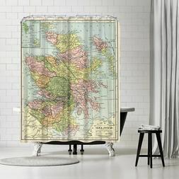 Americanflat 'Scotland 16X20' Shower Curtain