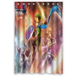 LIBIN ScottShop Custom The Legend of Zelda Shower Curtain De