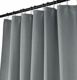 Serafina Home Grey Fabric Shower Curtain: Modern Geometric w
