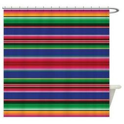 CafePress Serape Pattern Decorative Fabric Shower Curtain