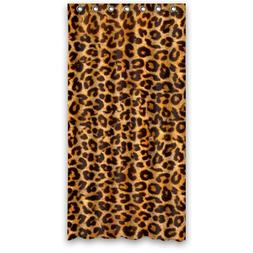 "Fashion Sexy Leopard Print Feeling Shower Curtain 36""x72"" Le"