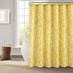 Kensie 'Susie' Shower Curtain, Size One Size - Yellow