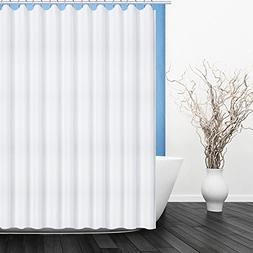 Fivanus Shower Curtain, Lock Hole Heavy Duty Bathroom Curtai