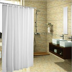 Shower Curtain, Resistant Fabric Shower Curtain Lock Hole He