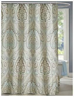 LanMeng Shower Curtain, AntiBacterial Eco Friendly,  Classic