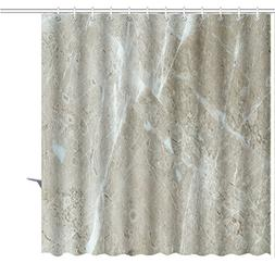 MuaToo Shower Curtain brown marble texture or abstract backg