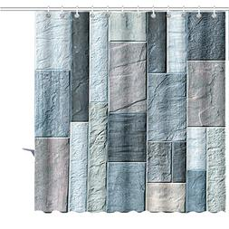 MuaToo Shower Curtain classic wall texture for tiles Graphic