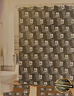 shower curtain fabric hooks bath