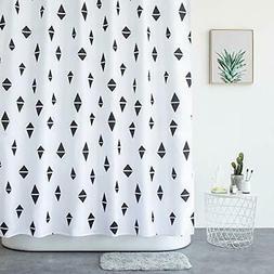 Aimjerry Shower Curtain for Bathroom ,72x72