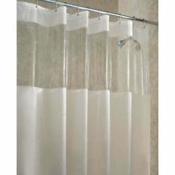 Interdesign Shower Curtain 72 X 72 Frost Clear