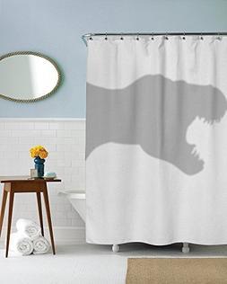 Shower Curtain Funny Dinosaur Trex Shower Curtains Standard