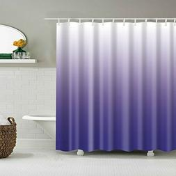 Shower Curtain Gradual Color Waterproof Bathroom Decor Showe