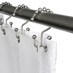 JYDA Shower Curtain Hooks Rings Double Glide Shower Curtain