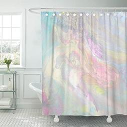 shower curtain iridescent transitions pale