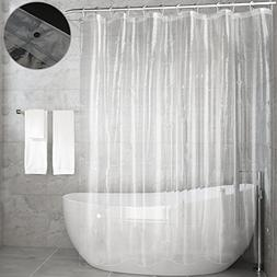 Clear Shower Curtain Liner,Feagar Mold&Mildew Resistant Wate