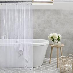 "Amazer Shower Curtain Liner, 72"" W x 72"" H Clear EVA 5G Mild"