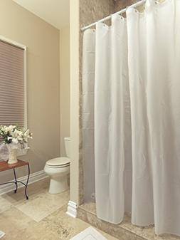 AZK Shower Curtain Liner Frost Privacy with Bottom Magnets w