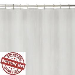 Shower Curtain Liner Mildew Resistant 100% Peva 72in x 70in