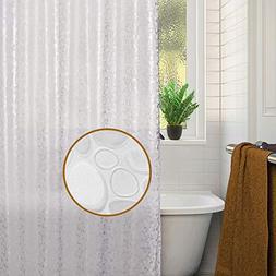 "Dekun Shower Curtain Liner Mildew Resistant, 72"" x 72"" 8G Wa"