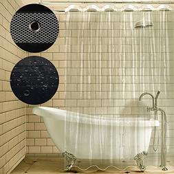 Carttiya Shower Curtain Liner, Mildew Resistant Anti-bacteri
