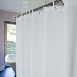 YOLOPLUS Shower Curtain Liner White 80 x 80 Inch Weighted He