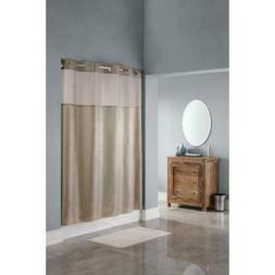 Hookless Shower Curtain MUSHROOM & Diamond Pattern Polyester