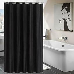 Luunaa Shower Curtain Polyester Fabric Washable  Home &amp K