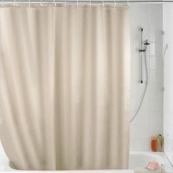OSOPOLA Shower Curtain Waterproof Basic Curtain for Bathroom