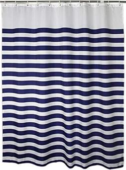 Stall Shower Curtain for Bathroom Water Repellent Fabric Mil