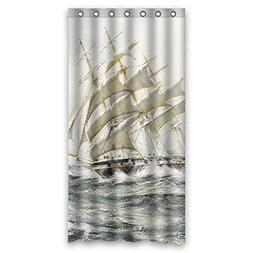 Sunsmiles Shower Curtains Art Bathroom drape Width X Height