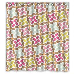 Eyeselect Shower Curtains Of Flower Polyester Width X Height