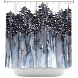 DiaNoche Designs Designs Shower Curtains, 71 x 74 Standard