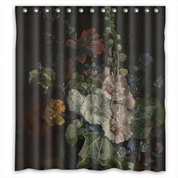 TonyLegner Shower Drape Of Famous Classic Art Painting Flowe