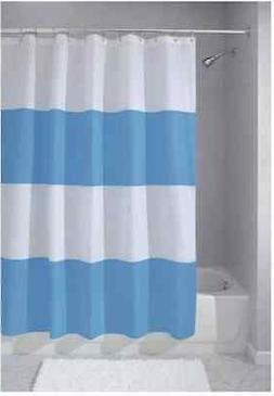 Showr Curtain Blu Stripe