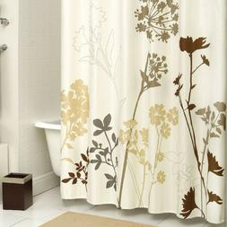 DS BATH Silhouette Tree Polyester Waterproof Fabric Printed
