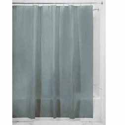 Smoke Vinyl Shower Curtain Liner  Extra Long Size 72 x 84 Mi