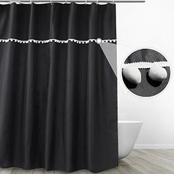 Eforgift Mildew Proof Shower Curtain Fabric Opaque No More W