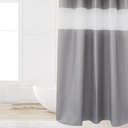 Eforcurtain 72 Inch Wide by 84 Inch Long Gray Color Polyeste